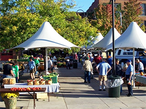 State Street farmers market